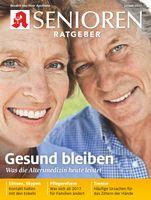 "Titelbild Senioren Ratgeber Januar 2017 Bild: ""obs/Wort & Bild Verlag - Senioren Ratgeber"""
