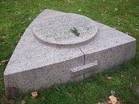 Gedenkstein an das Attentat der RAF in Karlsruhe. Bild: Klaus-Dieter Keller