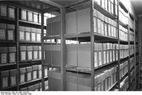 Bezirks-Archiv in Erfurt, 4. Dezember 1989