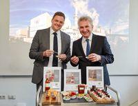 """Besuch Minister Pinkwart bei Pfeifer & Langen. Bild: """"obs/Pfeifer & Langen GmbH & Co. KG/Maria Schulz"""""""