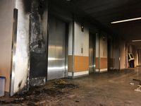 Brandstelle im Untergeschoss des Klinikums NordschwarzwaldBild Markus Fritsch Kreisfeuerwehrverband Calw e.V. Bild: Feuerwehr