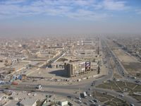 Blick über Sadr City im Norden von Bagdad (Symbolbild)