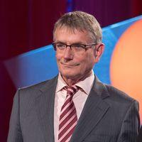 Jörg Armbruster bei der Preisverleihung des Hanns-Joachim-Friedrich-Preises 2013