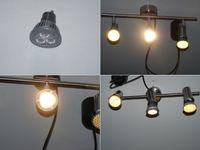 Weiße LED-Lampen mit unterschiedlichen Farbtemperaturen  (Symbolbild)