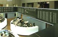 Frankfurter Börse: Innenansicht mit Blick auf die DAX-Kurstafel
