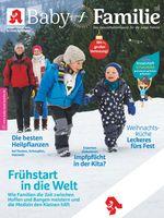 """Titelbild Baby und Familie 12/2018. Bild: """"obs/Wort & Bild Verlag - Baby und Familie"""""""
