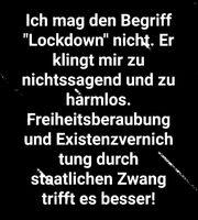 Lockdown = ? (Symbolbild)
