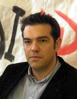 Syriza Parteivorsitzender Alexis Tsipras