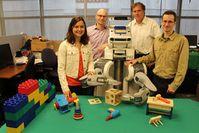 Forscher: BRETT lernt wie Menschen. Bild: UC Berkeley Robot Learning Lab