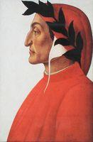 Porträt des Dante Alighieri, Sandro Botticelli, um 1495