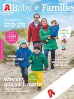 """Titelbild Baby und Familie 3/2019. Bild: """"obs/Wort & Bild Verlag - Baby und Familie"""""""