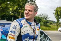 Gus Greensmith und Chris Patterson beendeten den achten Saisonlauf mit dem Fiesta WRC auf Rang sieben der Topklasse RC1.  Bild: M-Sport Ford Fotograf: Ford-Werke GmbH