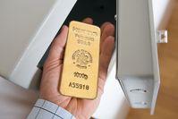 Gold im Tresor Bild: ReiseBank AG Fotograf: ReiseBank AG