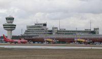 """Der Flughafen Berlin-Tegel """"Otto Lilienthal""""."""