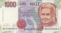 Italienische Lire