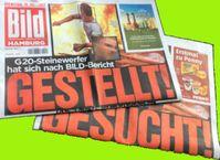 Bildzeitungen zum G20 Gipfel
