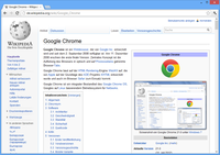 Google Chrome 21.0 unter Windows 8 Bild: wikipedia.org