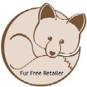 Logo: Fur Free Retailer Programm Grafik: VIER PFOTEN