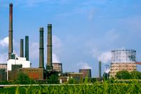 Das Kraftwerk der Salzgitter AG in Salzgitter