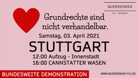 Bild: Querdenken 711 - Stuttgart