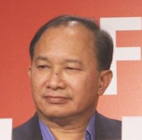 John Woo 2005 in Cannes