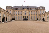 Palais de l'Elysée, Hofansicht