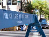 USA Police Absperrung