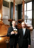 Dipl. Brau-Ing.Axel Stauder (Geschäftsführer) und Dr. Thomas Stauder (Geschäftsführer). Bild: Privatbrauerei Jacob Stauder GmbH & Co. KG