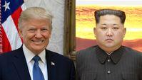 Donald Trump und Kim Jong-un (2017)
