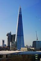 The Shard, auch Shard London Bridge (vormals London Bridge Tower, auch Shard of Glass; von englisch shard: Scherbe, Splitter), ist ein Wolkenkratzer in Londons Stadtteil Southwark, der mit 310 Meter von Juli bis Oktober 2012 das höchste Gebäude Europas war.