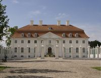 Schloss Meseberg von Süden