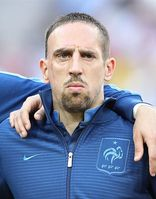 Ribéry bei der Fußball-EM 2012