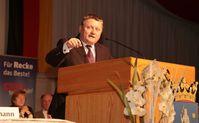 Hermann Gröhe 2014 als Hauptredner beim 13. Politischen Aschermittwoch der CDU in Recke.