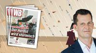 """Bild: Hintergrund/Freepik; Mückstein/Wikimedia, Die Grünen, CC0; Bildkomposition """"Wochenblick"""" / Eigenes Werk"""