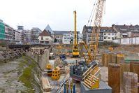 Kölner Stadtarchiv: 3. März 2013: Errichtung des Besichtigungsbauwerks