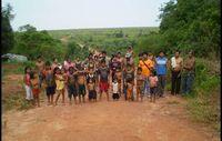 Guarani der Gemeinde Ypo'i in Brasilien. Bild: Survival