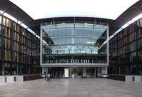 Digitales Sendezentrum der Mediengruppe RTL Deutschland in den Köln-Deutzer Rheinhallen.