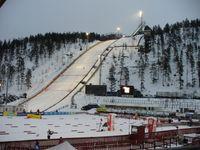Die Rukatunturi-Schanze ist eine Skisprungschanze am Fjell Rukatunturi im finnischen Kuusamo.