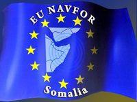 "Flagge der ""EU NAVFOR Somalia"" (Operation Atalanta)"