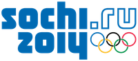 Logo der Olympischen Winterspiele 2014 in Sotschi