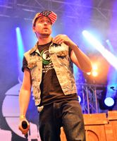 Rapper Danger Dan, bürgerlich: Daniel Pongratz (2015), Archivbild