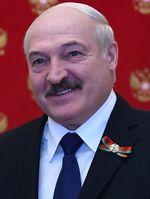 Aljaksandr Ryhorawitsch Lukaschenka (russisch Alexander Grigorjewitsch Lukaschenko (2020)