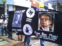 Studentische Protestkundgebung in Guatemala-Stadt 2006.