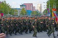 Militärparade in Pjöngjang (2015)