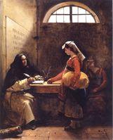 """""""Die Heilige Kirche"""" hatte schon immer ein Händchen für Geldgeschäfte, auch Jesus mußte Geldmacher aus dem Tempel werfen (Symbolbild)"""