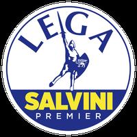Lega Nord (Liga Nord; vollständiger Name Lega Nord per l'indipendenza della Padania, übersetzt: Liga Nord für die Unabhängigkeit Padaniens), Logo