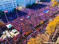 """Der """"Million MAGA""""-Marsch in den USA am 14.11.2020 bringt unzählige Patrioten auf die Straße"""