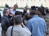 Zu Guttenberg bricht in Termez seine Rückreise ab. Bild: Bundeswehr