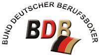 Deutscher Berufsboxer (BDB) Logo