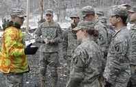 Army: mit Knie- und Ellenbogenschonern ausgerüstet. Bild: flickr.com/West Point